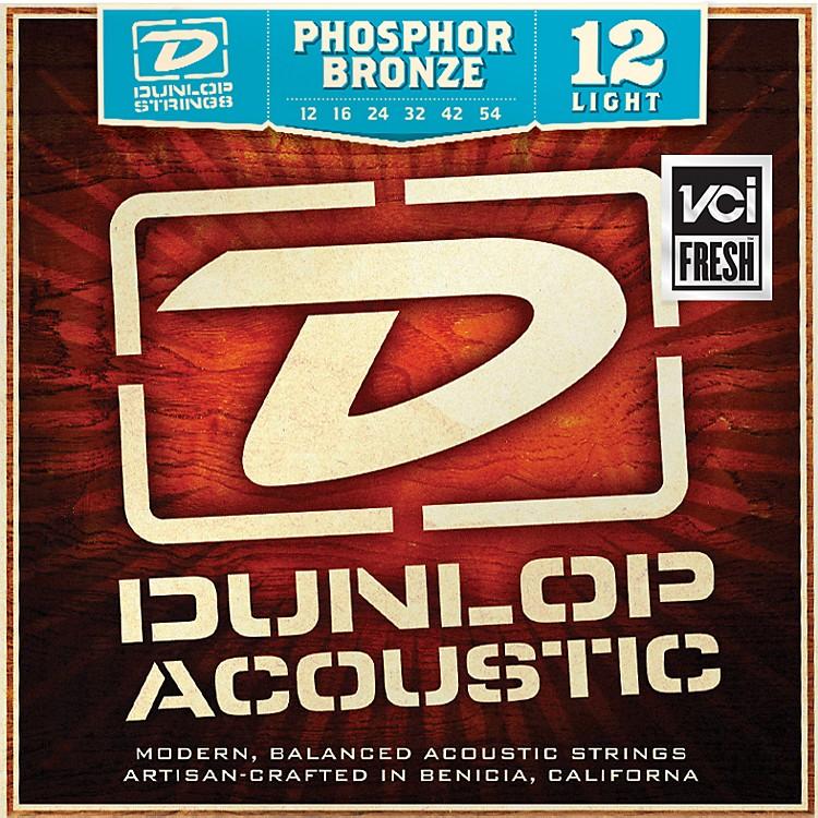 DunlopPhosphor Bronze Light Acoustic Guitar Strings
