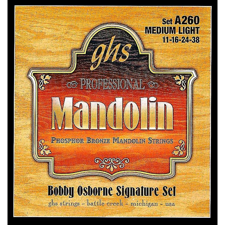 GHSPhosphor Bronze Mandolin Strings Medium Light