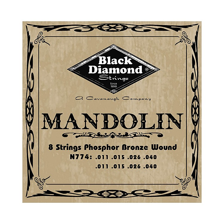 Black Diamond Phosphor Bronze Mandolin Strings