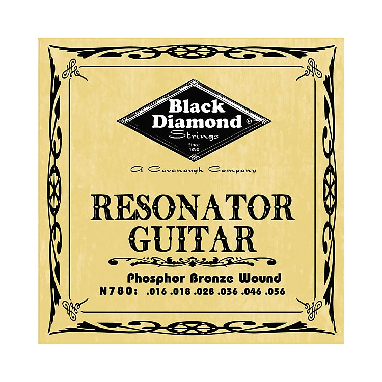 Black DiamondPhosphor Bronze Resonator Guitar Strings