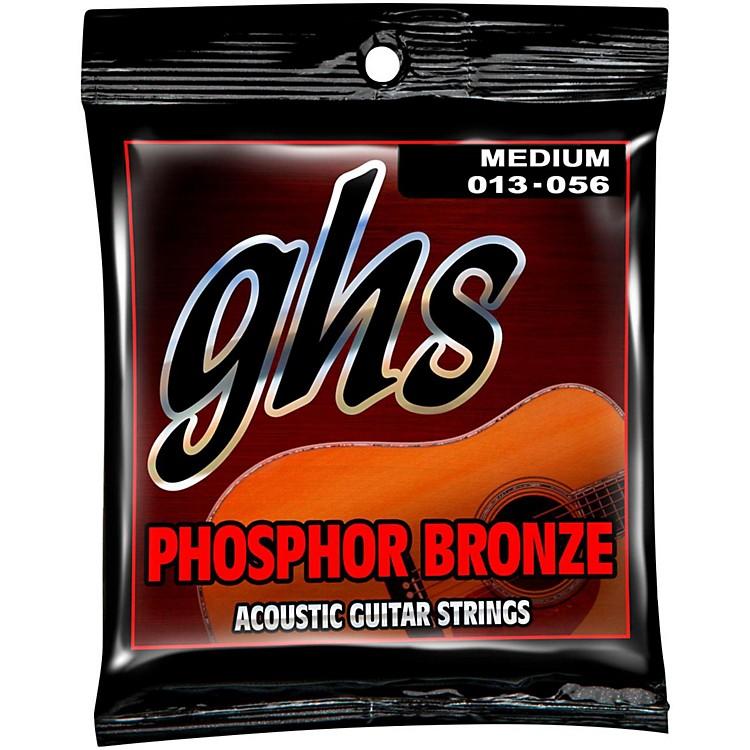 GHSPhospor Bronze Light Acoustic Guitar Strings (12-54)