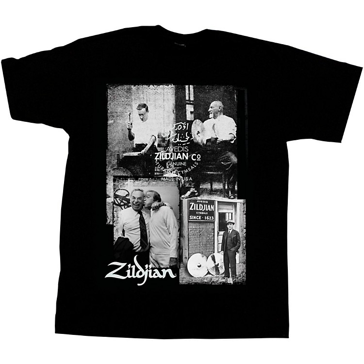 ZildjianPhoto Real T-ShirtBlackSmall