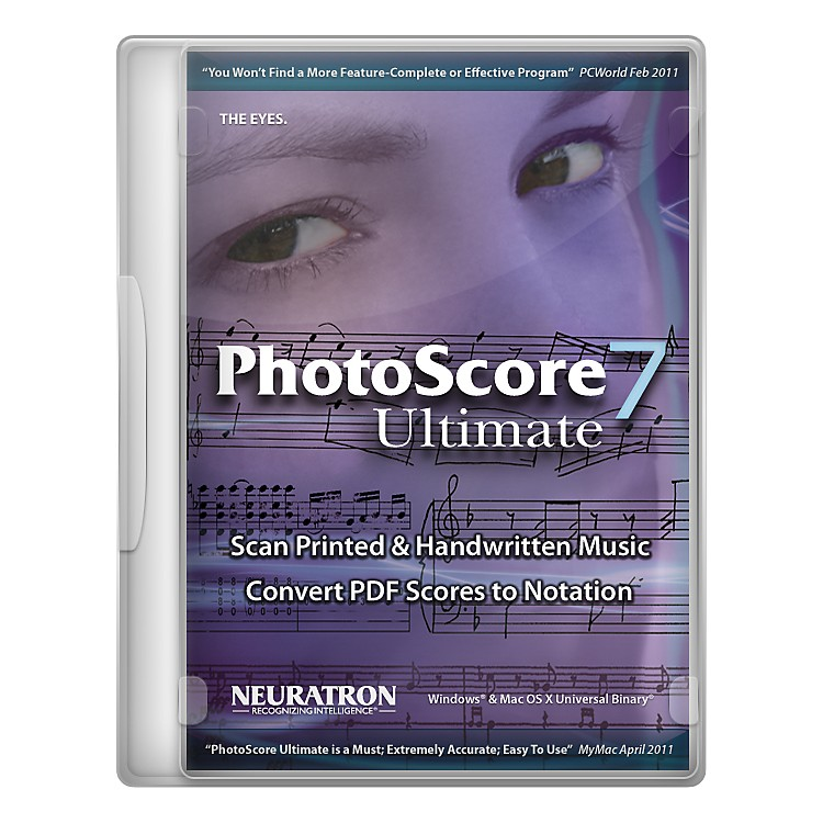 SibeliusPhotoScore Ultimate 7
