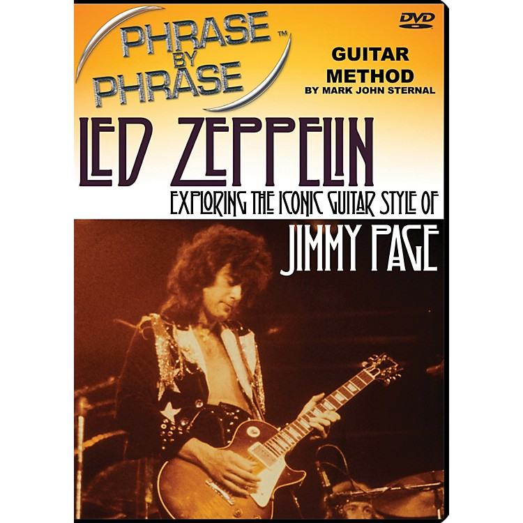 MJS Music PublicationsPhrase By Phrase Guitar Method - Led Zeppelin: Exploring The Iconic Guitar Style Of Jimmy Page