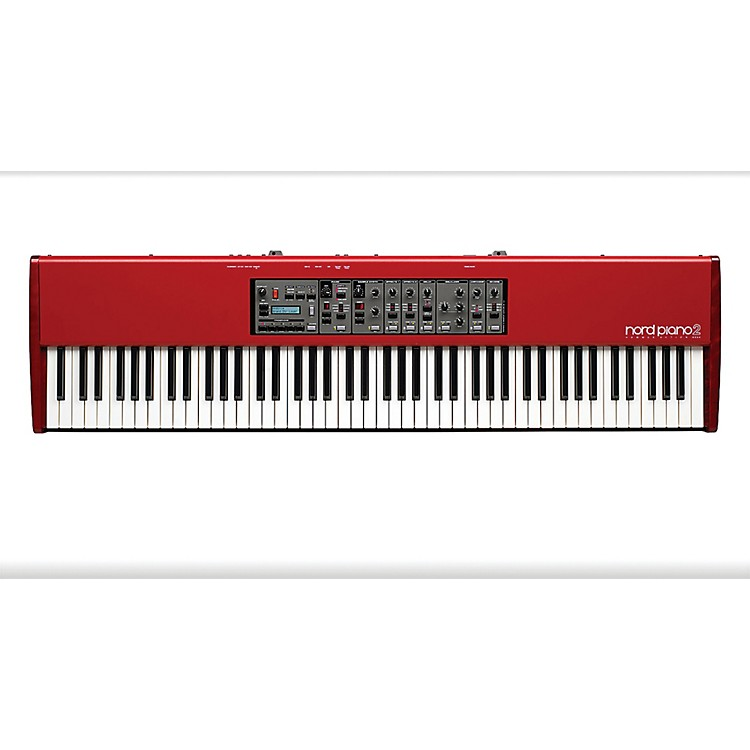 Nord Piano 2 HA88 88-Key Piano Red
