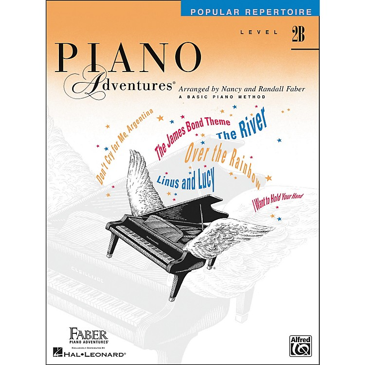 Faber Piano Adventures Piano Adventures - Popular Repertoire Level 2B - Faber Piano