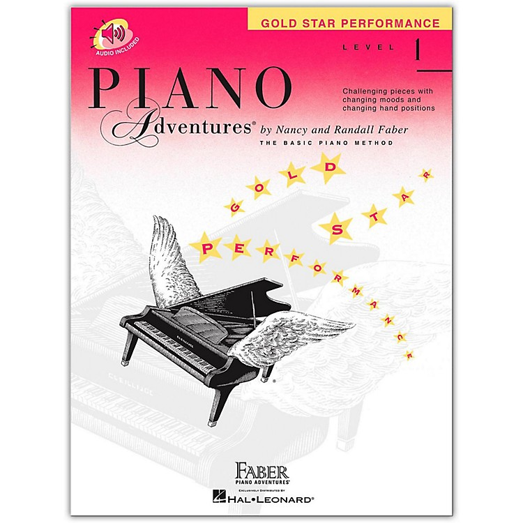 Faber Music Piano Adventures Book And CD Gold Star Performance Level 1 - Faber Piano