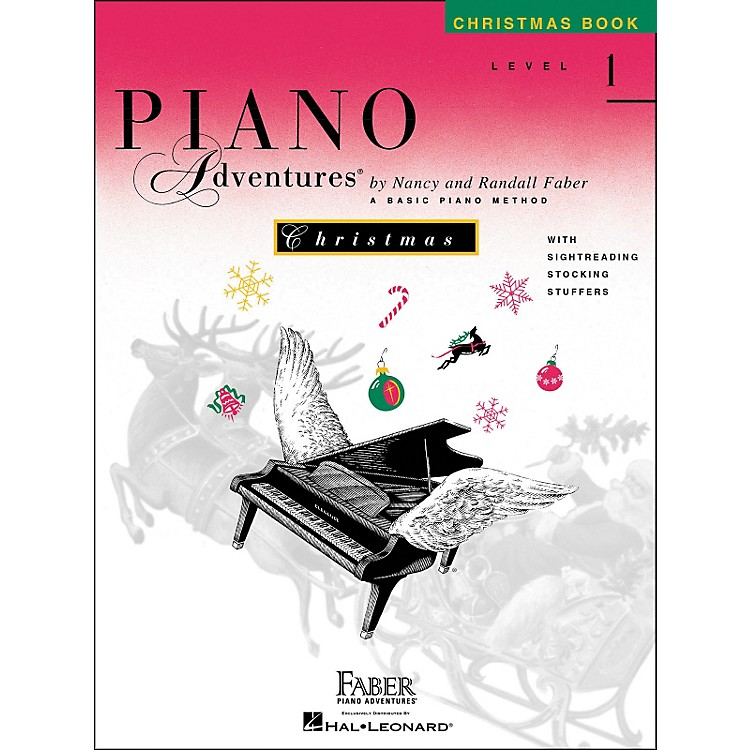 Faber Music Piano Adventures Christmas Book Level 1 - Faber Piano
