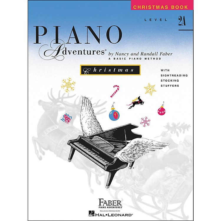 Faber Music Piano Adventures Christmas Book Level 2A - Faber Piano