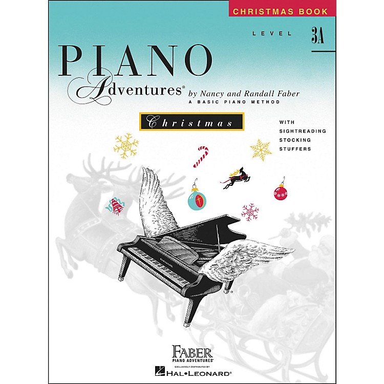 Faber Music Piano Adventures Christmas Level 3A - Faber Piano