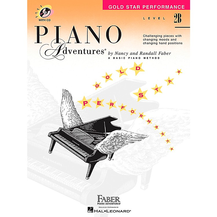 Faber Music Piano Adventures Gold Star Performance Level 2B Book/CD - Faber Piano