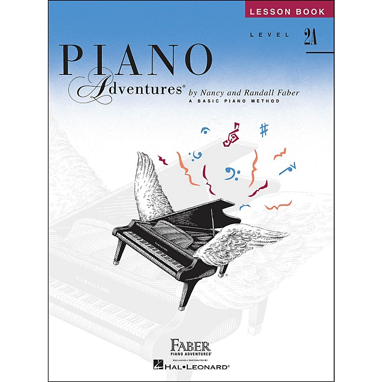Faber Music Piano Adventures Lesson Book Level 2A