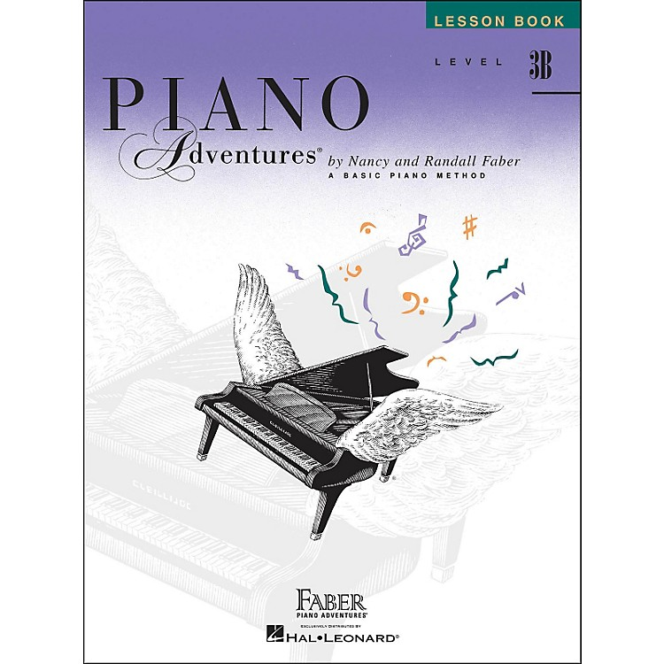 Faber Music Piano Adventures Lesson Book Level 3B
