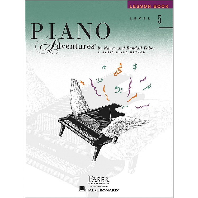 Faber Music Piano Adventures Lesson Book Level 5 - Faber Piano