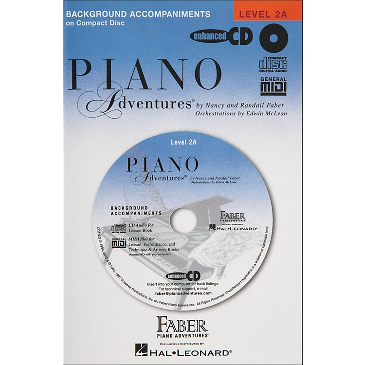 Faber Music Piano Adventures Lesson CD for Level 2A - Faber Piano