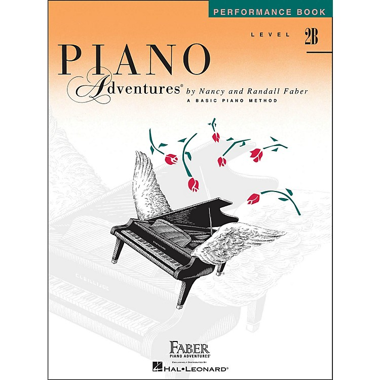 Faber Music Piano Adventures Performance Book Level 2B