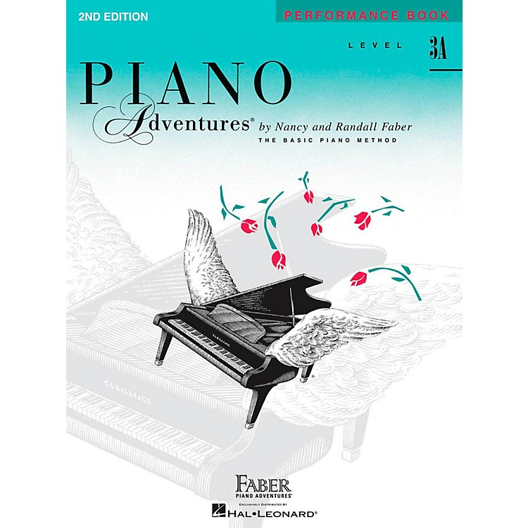 Faber MusicPiano Adventures Performance Book Level 3A