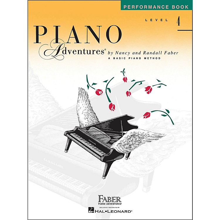 Faber Music Piano Adventures Performance Book Level 4