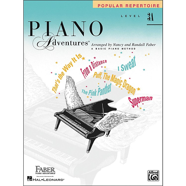 Faber Piano Adventures Piano Adventures Popular Repertoire Level 3A - Faber Piano