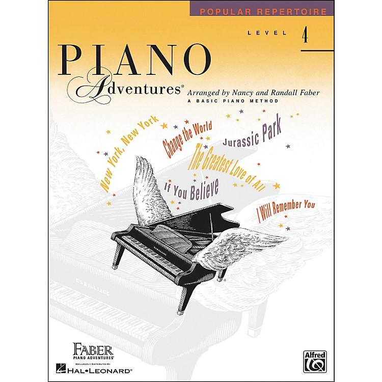 Faber Piano AdventuresPiano Adventures Popular Repertoire Level 4 - Faber Piano