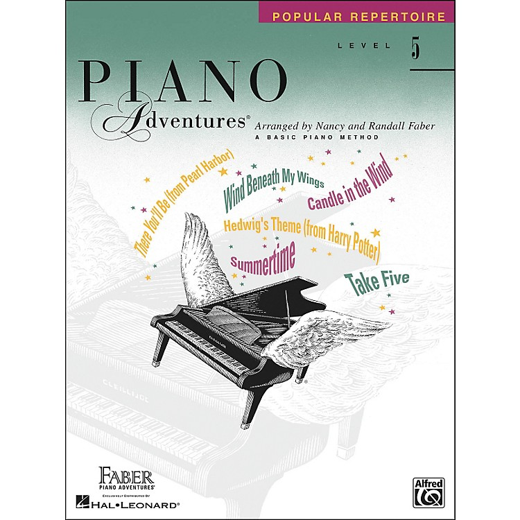 Faber Piano Adventures Piano Adventures Popular Repertoire Level 5 - Faber Piano