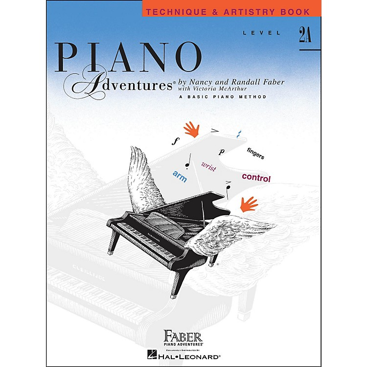 Faber Music Piano Adventures Technique & Artistry Book Level 2A