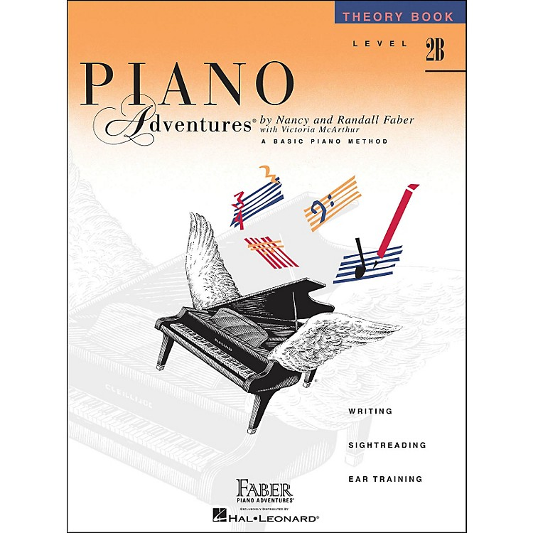 Faber Music Piano Adventures Theory Book Level 2B
