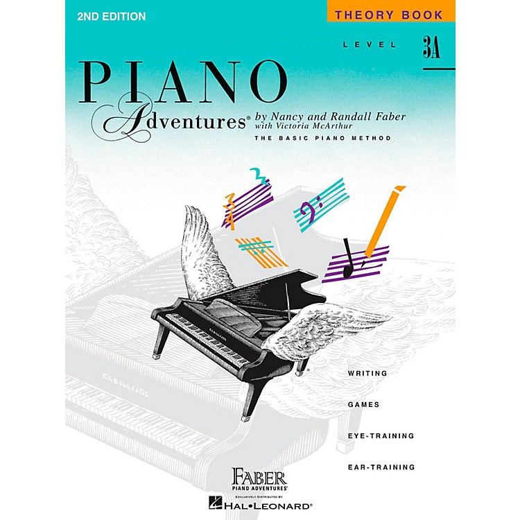 Faber Music Piano Adventures Theory Book Level 3A
