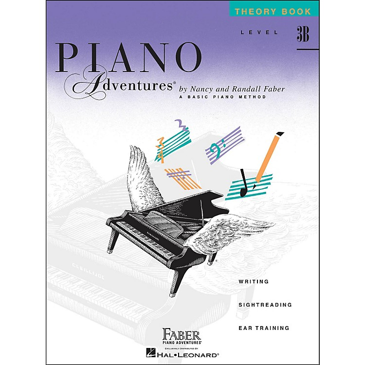 Faber Music Piano Adventures Theory Book Level 3B