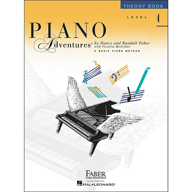 Faber Music Piano Adventures Theory Book Level 4 - Faber Piano