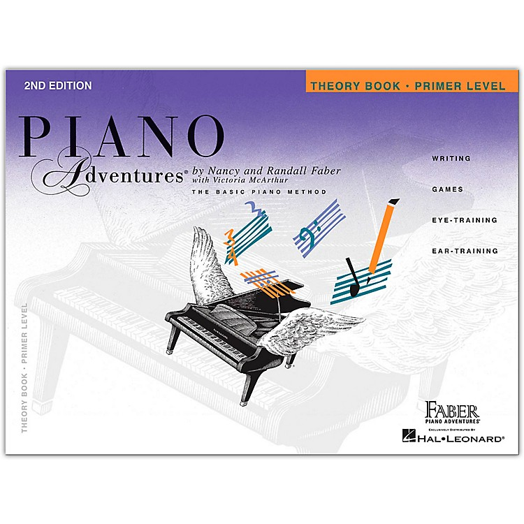 Faber Piano Adventures Piano Adventures Theory Book Primer Level