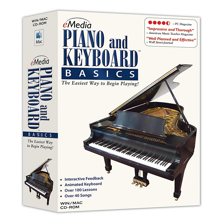 Emedia Piano & Keyboard Basics v3.0