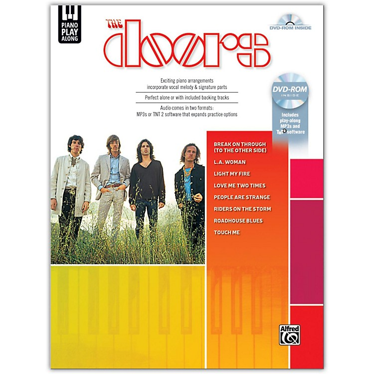 AlfredPiano Play-Along The Doors,Piano Vocal Songbook & DVD-ROM
