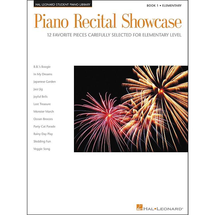 Hal LeonardPiano Recital Showcase Book 1 Elementary Hal Leonard Student Piano Library