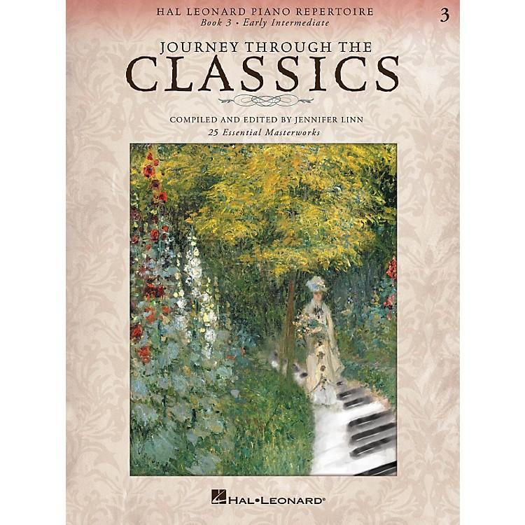 Hal LeonardPiano Repertoire Series - Journey Through The Classics Book 3 Early Intermediate