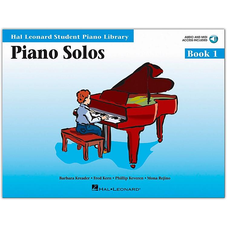 Hal LeonardPiano Solos Book 1 Book/CD Hal Leonard Student Piano Library