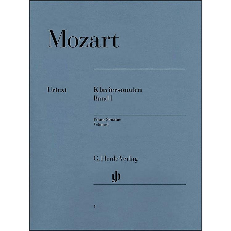 G. Henle VerlagPiano Sonatas Volume I By Mozart / Herttrich