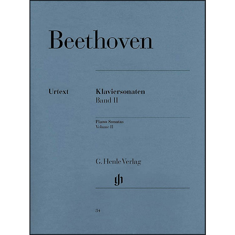 G. Henle Verlag Piano Sonatas Volume II By Beethoven / Wallner
