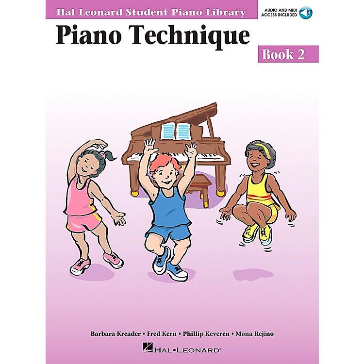 Hal LeonardPiano Technique Book 2 Book/CD Hal Leonard Student Piano Library