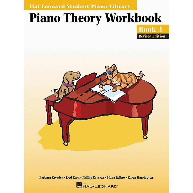 Hal LeonardPiano Theory Workbook 3 Hal Leonard Student Piano Library