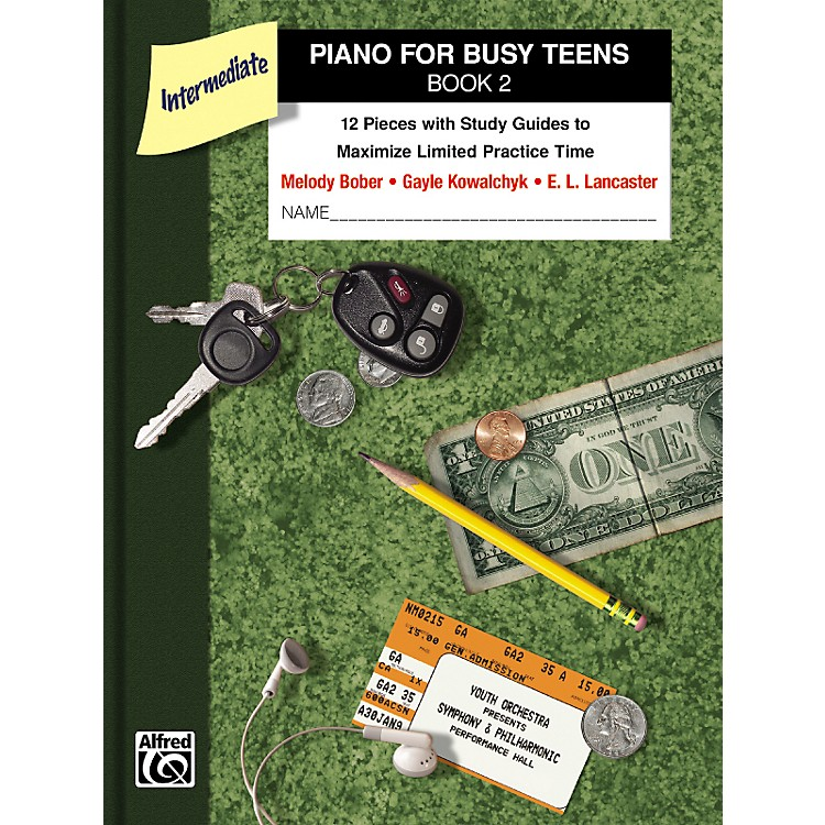AlfredPiano for Busy Teens Book 2