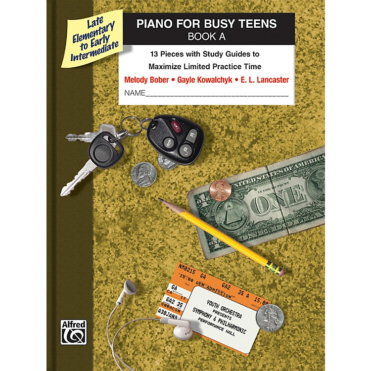 AlfredPiano for Busy Teens Book A