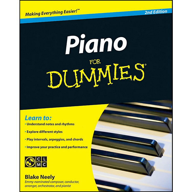Mel BayPiano for Dummies, Second Edition Book/CD Set