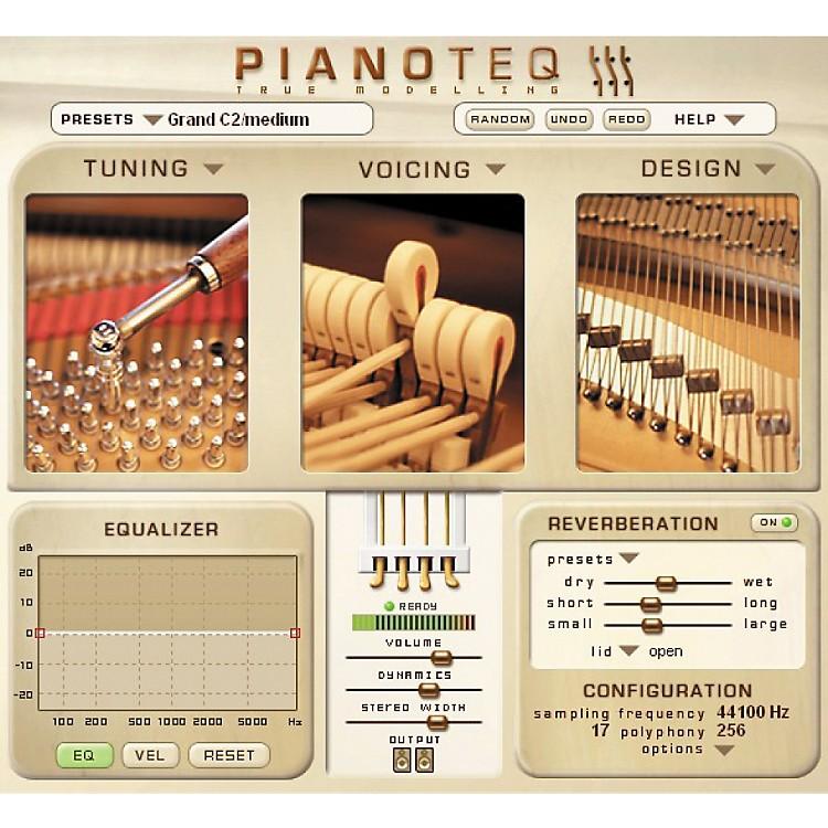 Modartt pianoteq virtual instrument