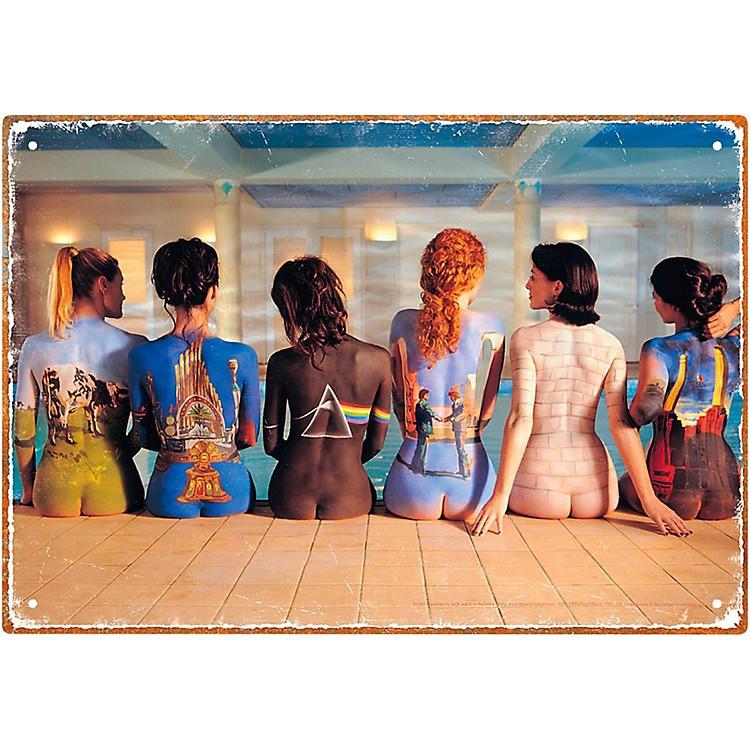 Hal LeonardPink Floyd Back Art Tin Sign