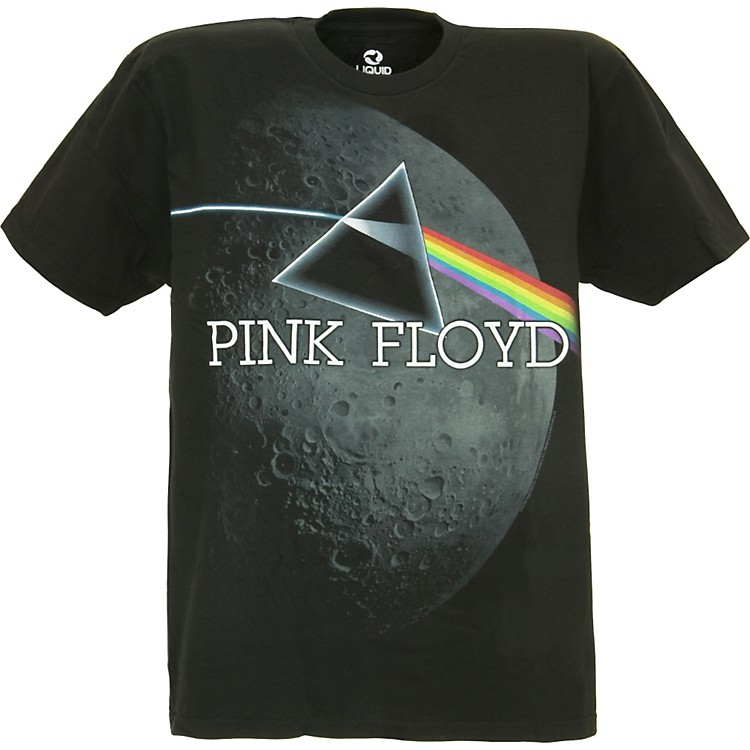 Pink Floyd Pink Floyd Dark Side Crater T-Shirt Black Medium
