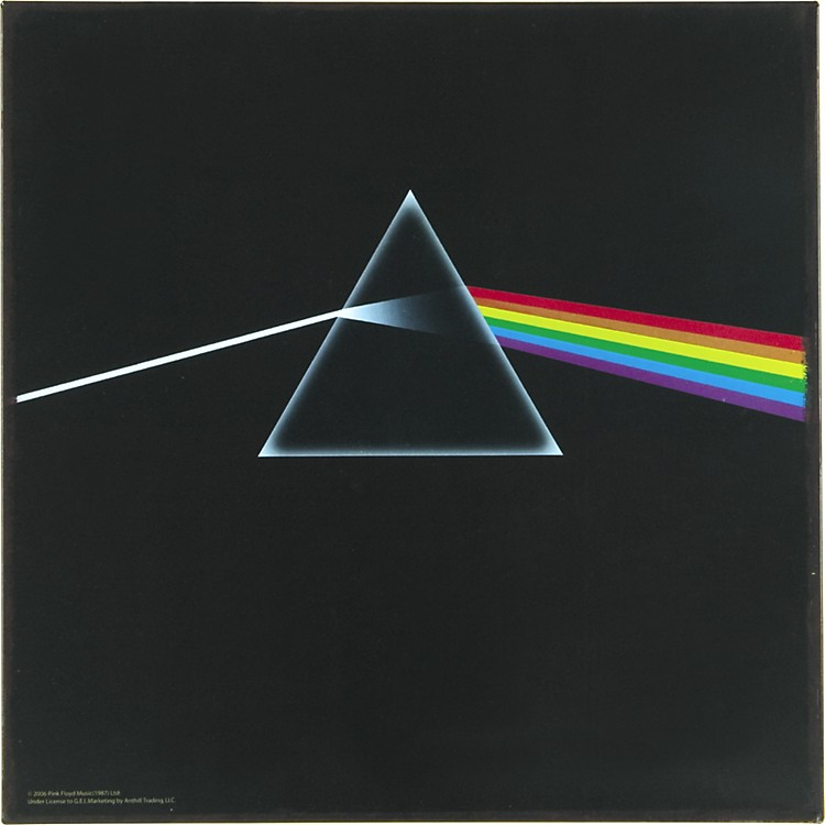 Gear One Pink Floyd Dark Side Metal Sign