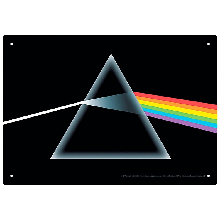 Hal LeonardPink Floyd Dark Side of the Moon Tin Sign