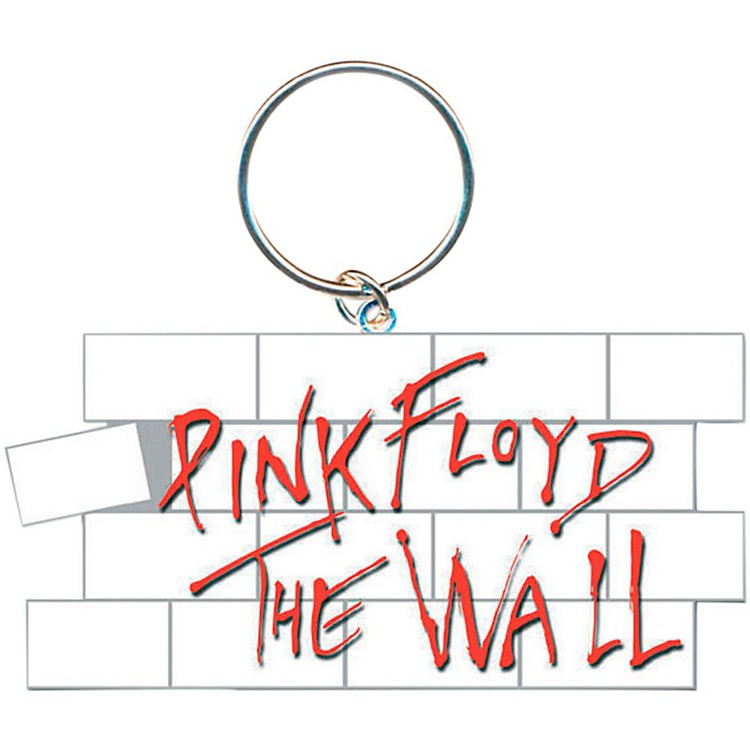 ROCK OFFPink Floyd The Wall Key Ring Wall Logo Keychain