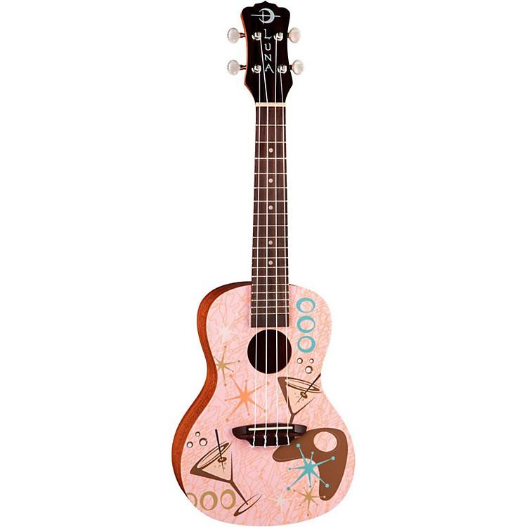 Luna GuitarsPink Martini Concert Ukulele
